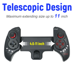 Image 2 - iPega PG 9023S Extendable Wireless Game Controller Gamepad for Bluetooth for PC for Android 6.0 or above