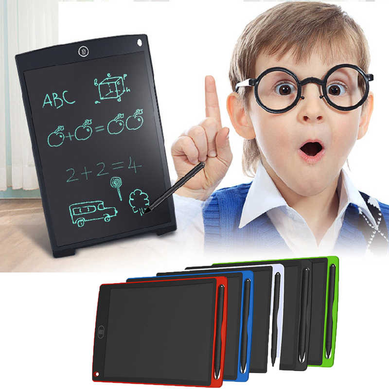 Drawing Toys 8.5/12 inch LCD Writing Tablet Erase Drawing Tablet Electronic Paperless LCD Handwriting Pad Kids Writing Board kid