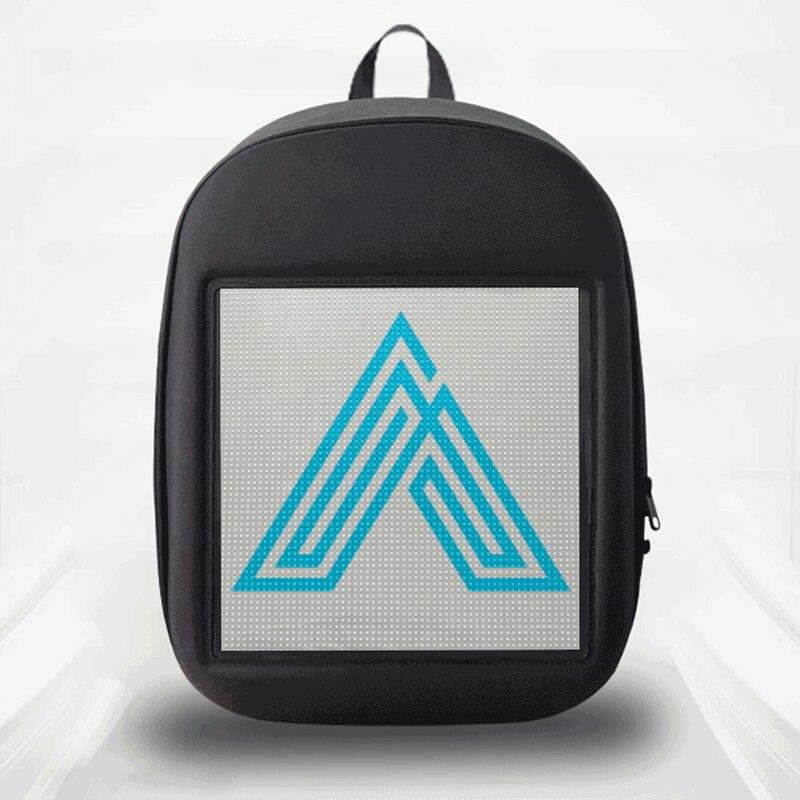 SOLLED شاشة LED على ظهره لتقوم بها بنفسك اللاسلكية واي فاي التطبيق التحكم الإعلان على ظهره في الهواء الطلق LED المشي لوحة على ظهره