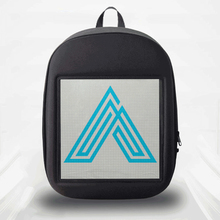 SOLLED LED Screen Display Backpack DIY Wireless Wifi APP Control Advertising Backpack Outdoor LED Walking Billboard Backpack