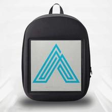 SOLLED wyświetlacz LED plecak DIY bezprzewodowa kontrola aplikacji Wifi reklama plecak na zewnątrz LED Walking Billboard plecak