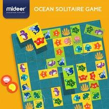Mideer детский Океанский блок солитер игра настольная подарок
