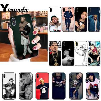 Yinuoda Chris Brown Breezy Phone Case cover For iPhone X 6 6S Plus coque for iPhone XS MAX SE 12 Pro Promax image