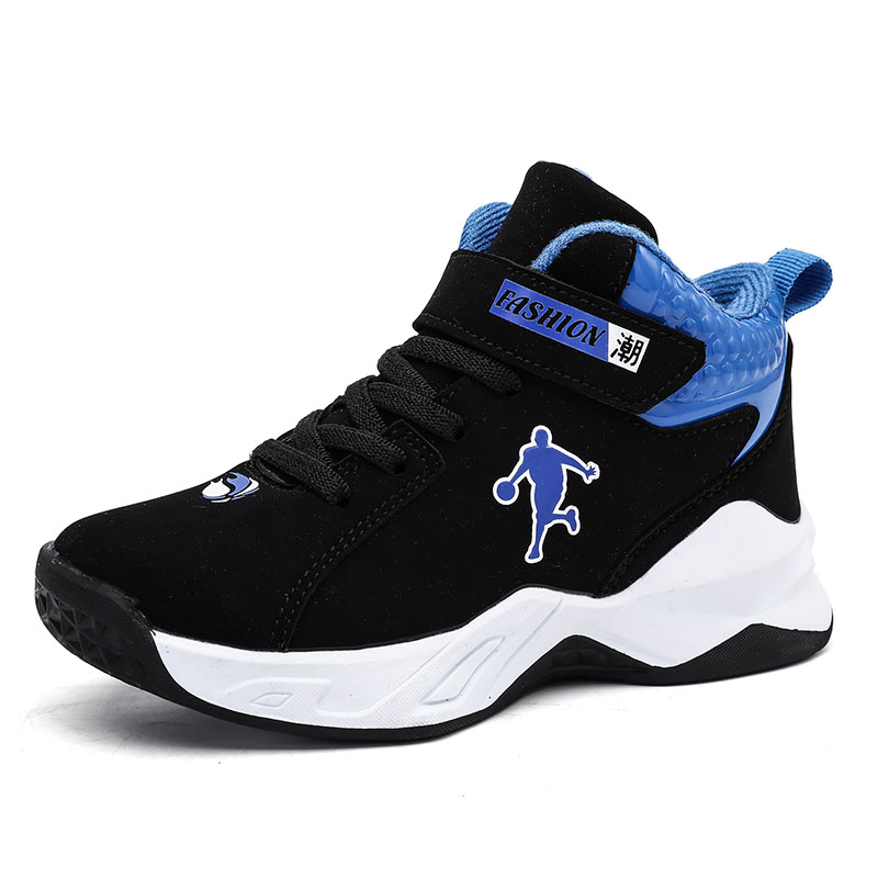 High-top Jordan Basketball Shoes Kids Boys Breathable Anti-skid Basketball Sneakers Training Sports Jordan Shoes Basket Shoes