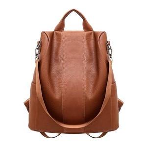 New Casual Womens Leather Eleg
