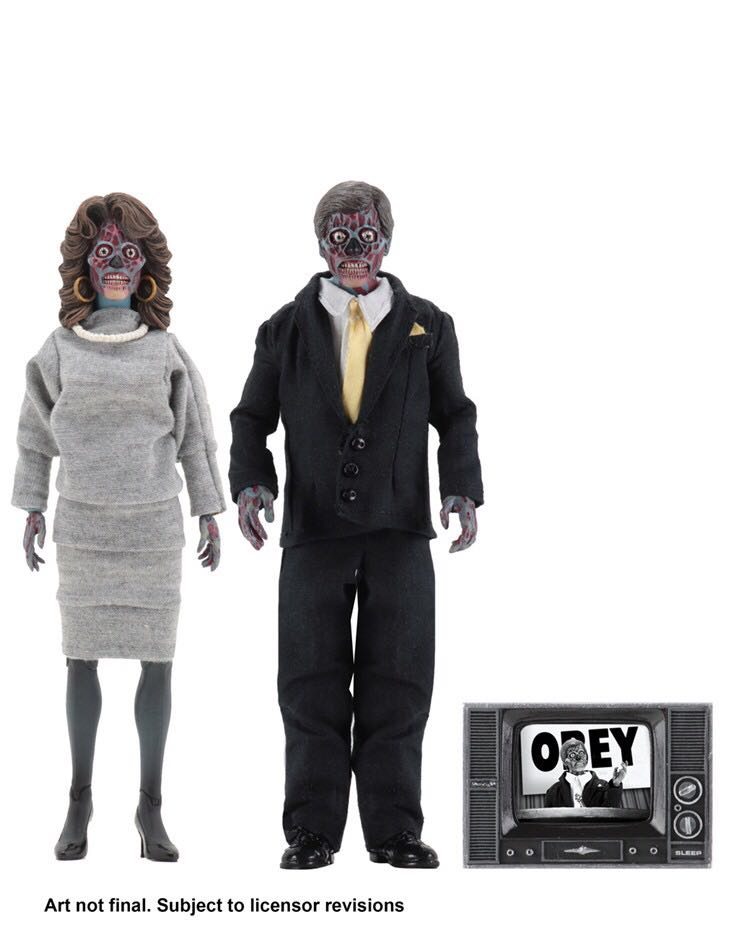 Neca-Vivono Retro Vestita Alien 2 Pack 8