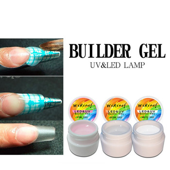 Fast Dry Led Uv Nail Builder Gel Extension Sculpture Hard Jelly Gel Manicure Uv Builder Nail Gel Polish Poly Nail Art Extension soak off poly gel uv acryl gel quick building 15ml finger extension polygel builder gel camouflage uv led hard builder nail gel