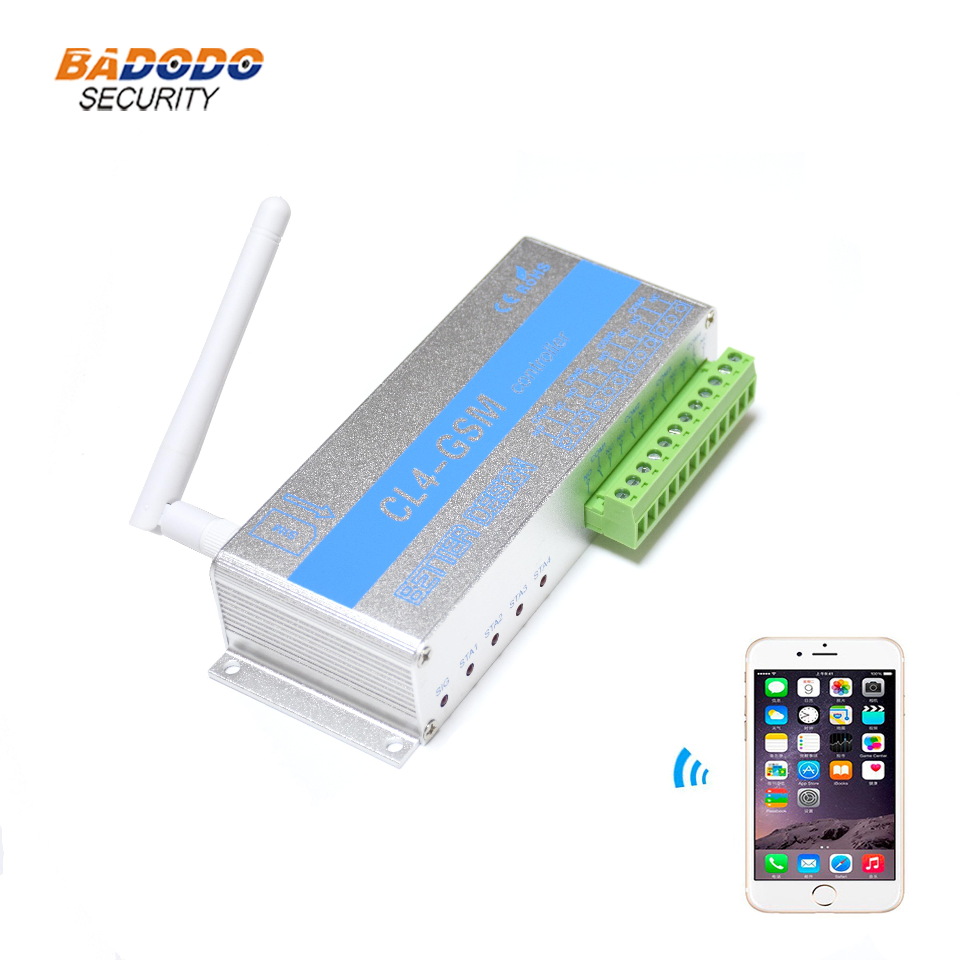 Drahtlose Remote Controller GSM SMS Schalter CL4-GSM für Haus Sicherheit System