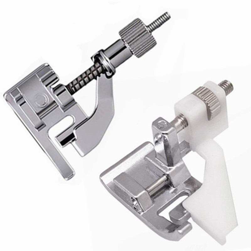 Бытовые детали швейной машины, металлические прижимные лапки, инструменты для шитья, автоматическая прижимная лапка для потайной кромки ...