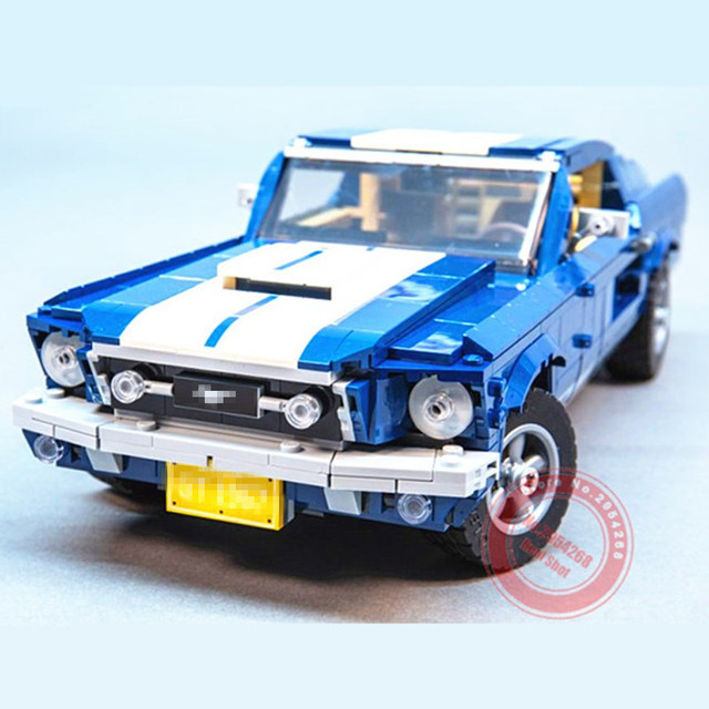 New GT500 1967 Ford Mustang Technic MOTOR POWER FUNCTIONS 6