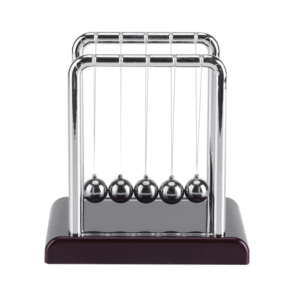 Hot Sale 2019 Early Fun Development Educational Desk Toy Gift Newtons Cradle Steel Balance Ball Physics Science Pendulum