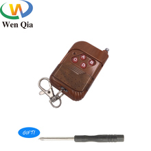 433Mhz Wireless RF Remote Control 4 Channel Learning Code 1527 EV1527 keychain For Garage Gate Door Opener Smart Home Switch DIY best price 8 key remote control remote control switch home light switch smart control learning code 315 433mhz