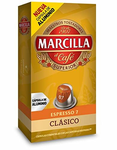 Cápsulas Nespresso® Marcilla Clásico (10 Cápsulas)