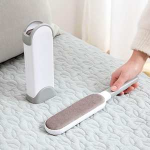 Hair-Brush Pet-Hair-Roller Lint-Remover Cleaning-Clothes And Reusable-Device Electrostatic