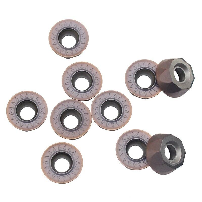 RPMT1204 VP15TF Milling Tools Carbide Insert Lathe Tool Hard Alloy Milling Turning Tool