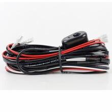Авто кабель жгут проводов с 40a 12v Вкл/off переключатель реле