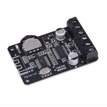 20W Stereo wzmacniacz mocy Bluetooth pokładzie 12V 24V wysokiej mocy karta do cyfrowego wzmacniacza mocy XY-P15W bez powłoki tanie i dobre opinie dual channel 50 * 33mm NONE XY-P15W stereo Bluetooth power amplifier module CN (pochodzenie)