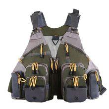 Outdoor Sport Photography Fishing Adjustable Breathable Multi-pocket Vest Backpacks Men and Women Backpack