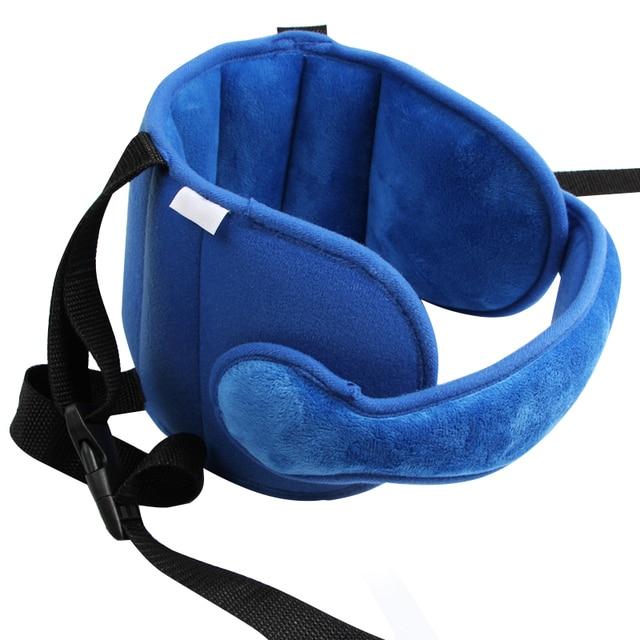 Capretti del bambino Regolabile Seggiolino Auto Supporto Per la Testa Testa Fissa A Pelo Cuscino di Protezione del Collo di Sicurezza Box Poggiatesta 3