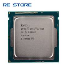 Intel Core I5 4690 Cpu Processor 3.50Ghz Socket 1150 Quad Core Desktop SR1QH(China)
