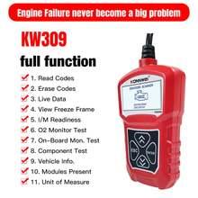 Автомобильный диагностический сканер konnwei kw309 obdii obdii/2