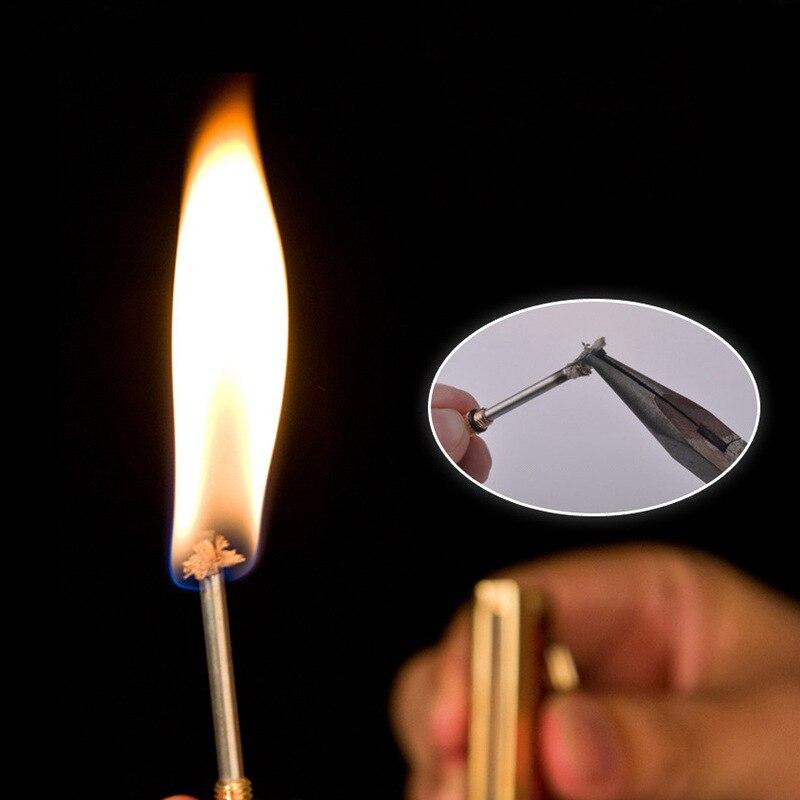 Купить новый огнестойкий металлический ретро спички кремневый запуск