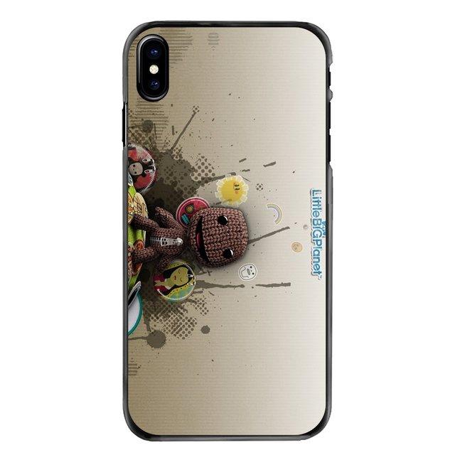 Mignon Little Big Planet Accessoires Coque de Téléphone Pour iPhone 11 Pro iPod Touch 4 4S 5 5S 5C SE 6 6S 7 8 Plus X XR XS MAX