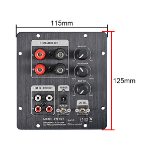 Image 4 - GHXAMP 2.1 Subwoofer Speaker Amplifier Board TPA3118 Audio 30W*2 +60W Sub AMP With Independent 2.0 Output
