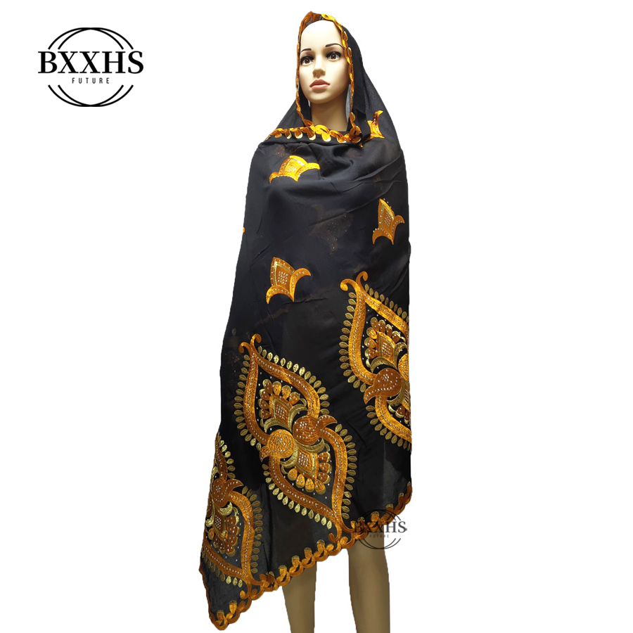 African Muslim Women Embroidered Hijab Scarf,mix Design And Wholesale Price