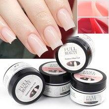15ml przedłużenie paznokci s akrylowy żel odbudowujący UV szybki szybki żel na paznokcie u rąk przedłużenie paznokci wzmocnienie naprawa narzędzie do Manicure GL1805