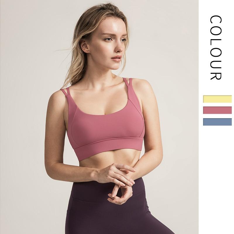Ladies Seamless Padded Sports Bra Shape Wear Leisure Yoga Womens Underwear M~7XL