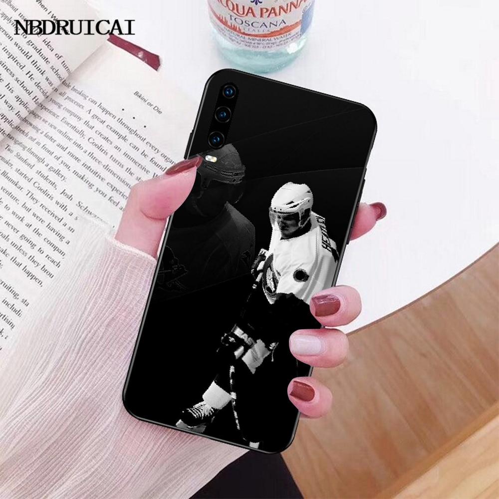 NBDRUICAI חם אני אוהב הוקי קרח בלינג חמוד טלפון מקרה עבור Huawei P30 P20 P10 P9 P8 Mate 20 10 פרו לייט