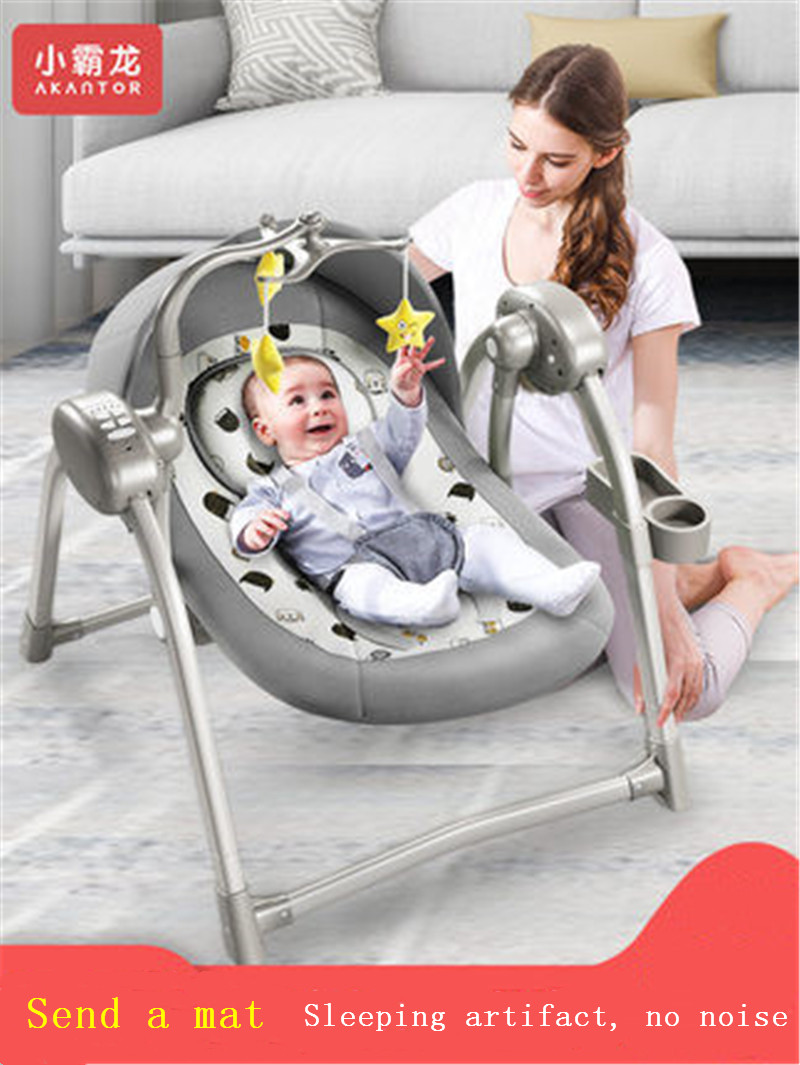 Newborn Rocking Chair Baby Electric Vibration Recliner Multi-function Comfort Chair To Increase Electric Cradle