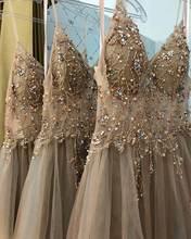 Женское вечернее платье без рукавов ТРАПЕЦИЕВИДНОЕ Тюлевое до