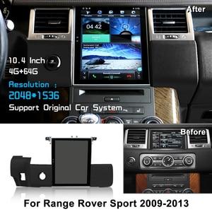 "Image 1 - Android 10.4 ""Tesla Vertikale Bildschirm Auto Radio Für Land Rover Sport V8 2009 2010 2011 2012 2013 LiisLee Multimedia GPS"