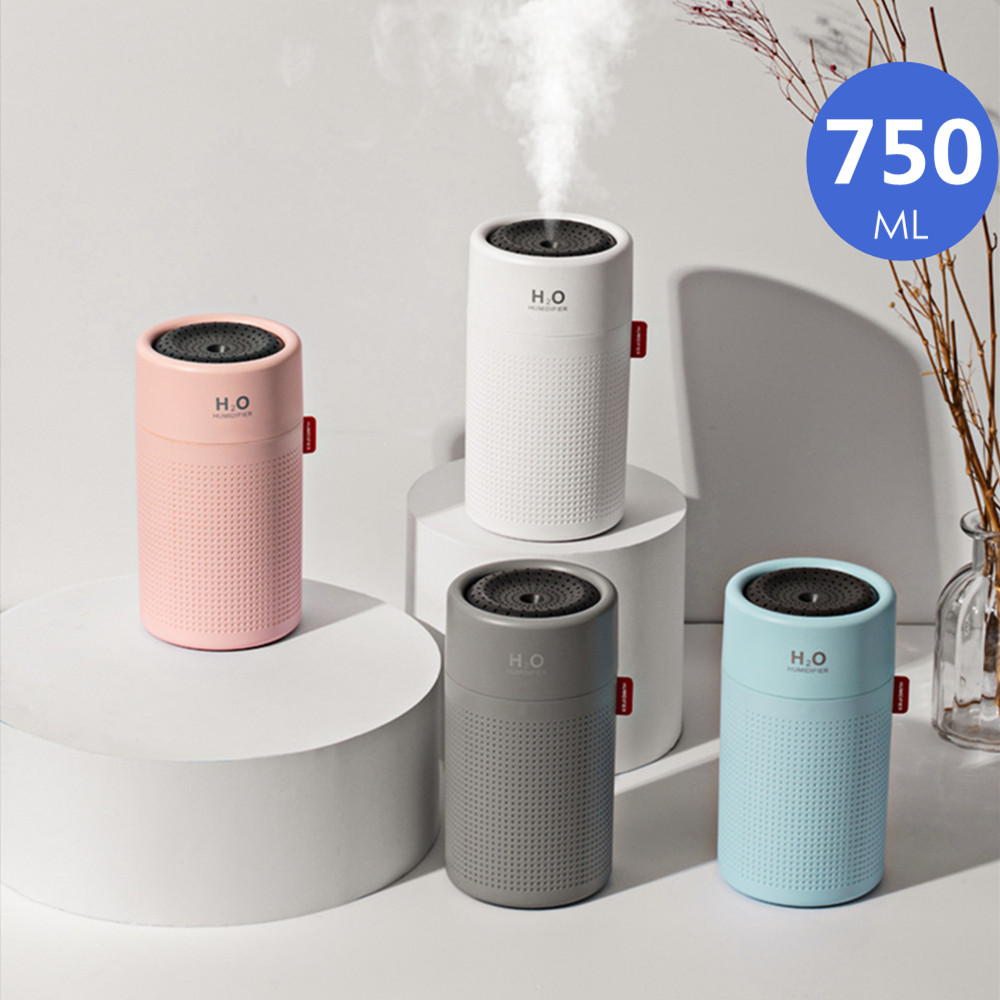 2019 New 750ML Rechargeable Humidifier Aromatherapy With 2000mAh Battery Essential Oil Diffuser Usb Air Aroma Diffuser For Home