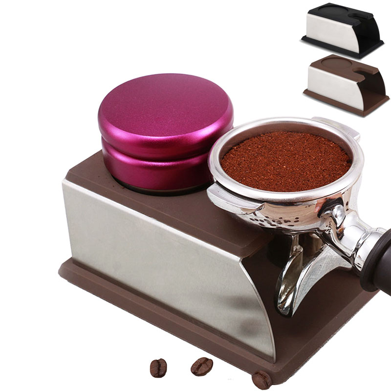 High Quality Silicone Espresso Tamper Holder Support Base Rack Coffee Tamper Kitchen Tools Free Shipping