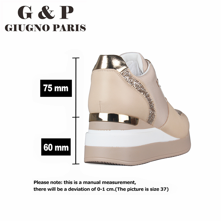Leather Insole sneakers women with platform sports shoes lady luxury designer white tennis women high quality|Women's Vulcanize Shoes|   -