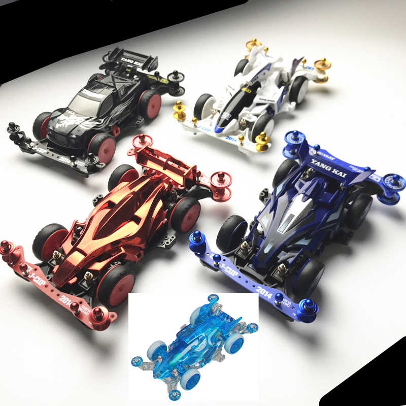 1 PCS/2 PCS Yangkai MINI 4WD รถ MA CHASSIS Damping 4WD Racing รถของเล่น YIKA Mini Car avatar/Lightning/Meteor/Eagle DIY ACC