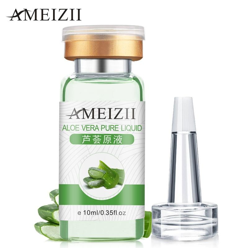 Коллагеновая Сыворотка для лица с алоэ, против морщин и старения лица, солнцезащитный крем с гиалуроновой кислотой, витамином, эссенцией для ухода за кожей TSLM2 Сыворотка      АлиЭкспресс