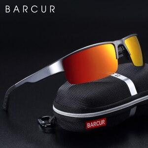 Image 1 - BACURY TAC Lens Aluminum Magnesium Sunglasses Men Polarized Sun glasses for Men Trending Sports Eyewear
