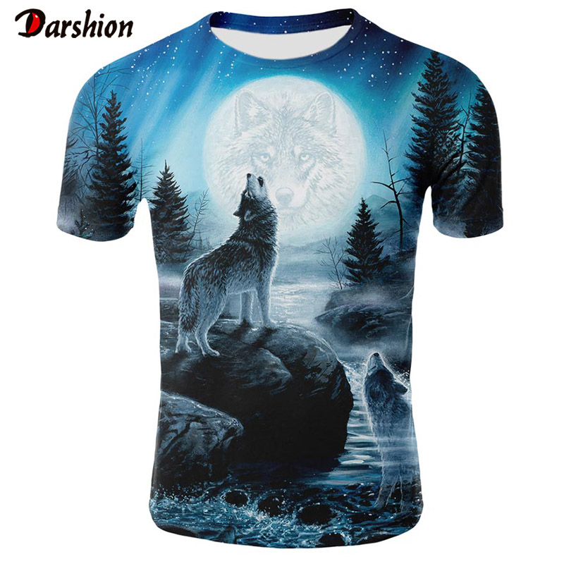 Mens Printing Tees Summer Shirt Short Sleeve T Shirt Blouse Tops