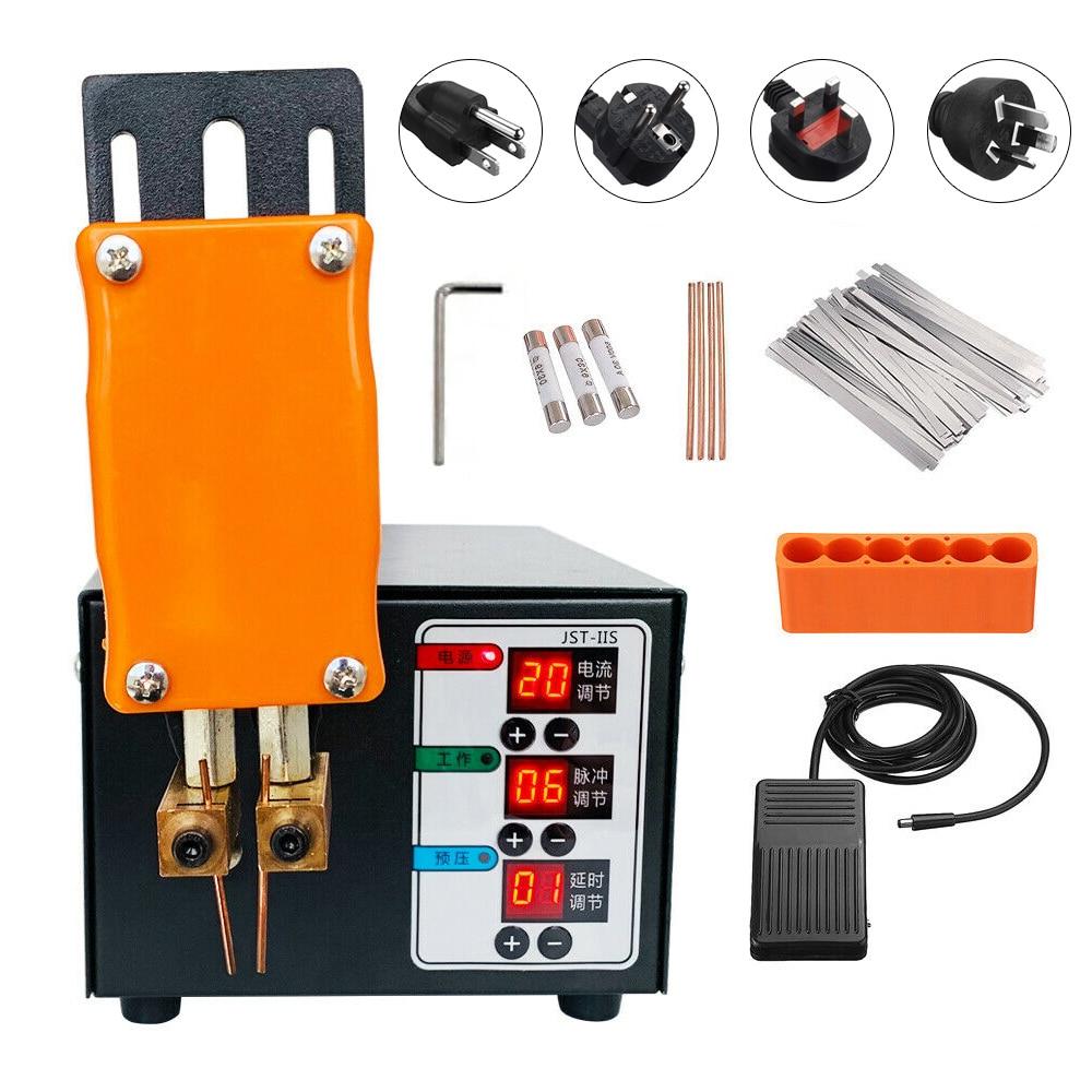 3KW Big Power Spot Welder For 18650 Battery Pack Spot Welding Mini Household Nickel Strip Welding Precision Pulse Welder Machine