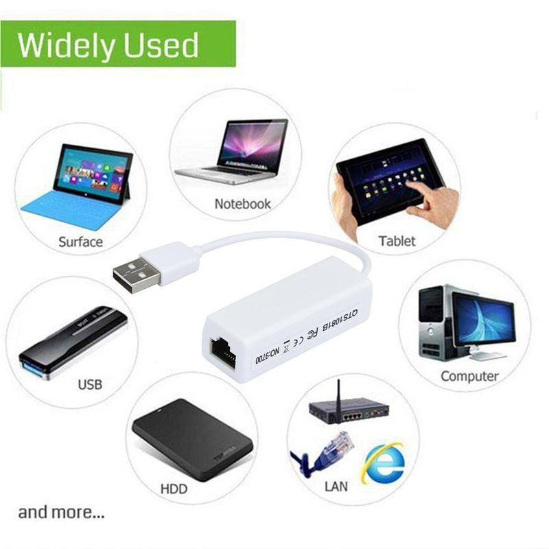 Network Card 9700 drive-free support win32/64 8152B card bit to with rj45 external usb line network J0M8