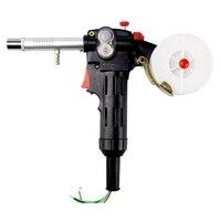 Welding Equipment Spool Push Pull Feeder Aluminum Copper Or Stainless Steel Motor Line Welding Torch