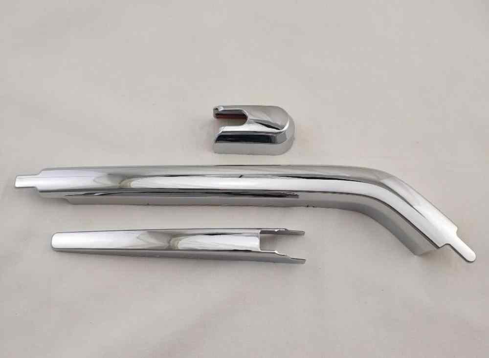 3 pièces voiture Chrome queue fenêtre arrière pare-brise essuie-glace couverture garniture pour TOYOTA INNOVA 2006-2013 voiture accessoires extérieurs style
