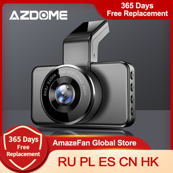 AZDOME M17 Car DVR Dashcam 1080P HD Night Vision ADAS Dash Camera WiFi Dual Lens 24H Parking Monitor Cam - discount item  52% OFF Car Electronics