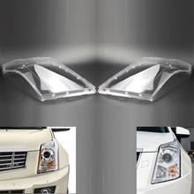 Para lewy i prawy reflektor reflektor osłona obiektywu Cadillac SRX 2010-2015 tanie tanio GZYOCN Reflektory CN (pochodzenie) GM2502345 GM2503345 GM2502432 GM2503432 20871473 20916371 20871472 20916372 22853872 22853873