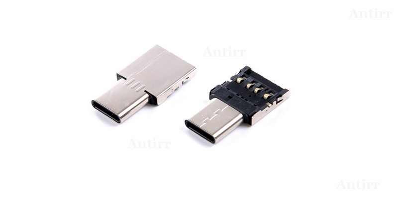 5 sztuk OTG Micro rodzaj USB c USB-C na USB typ adaptera-c konwerter do kabla danych dla Xiaomi Huawei Samsung mysz pamięć USB