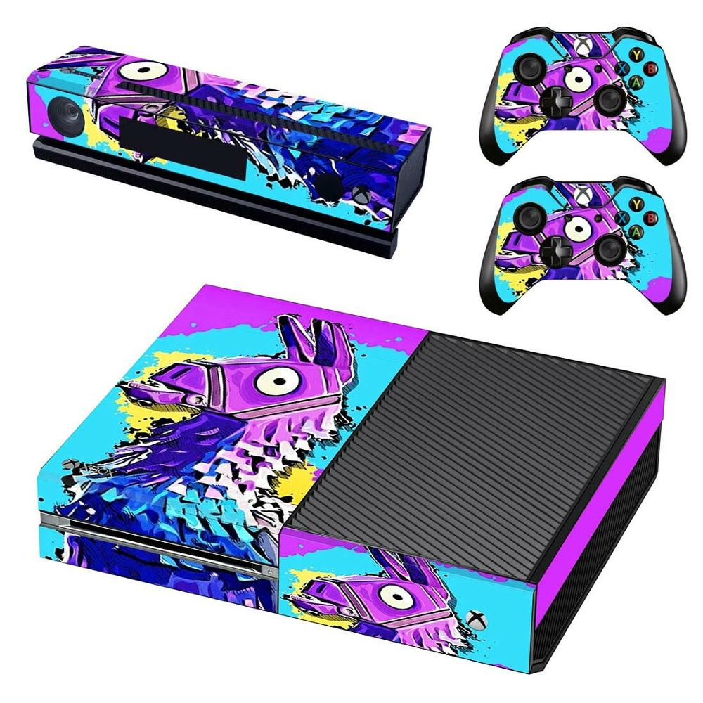 New Game Skin Sticker Decal Full Cover For Xbox One Console  amp  Kinect  amp  2 Controllers For Xbox One Skin Sticker